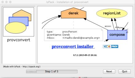 provconvert Installer